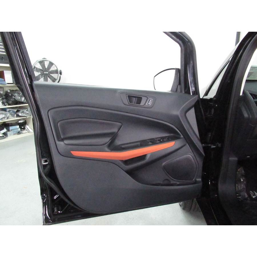 2019 Ford EcoSport Front door speaker location