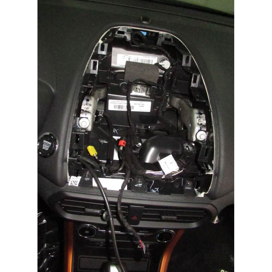2019 Ford EcoSport Factory radio removed