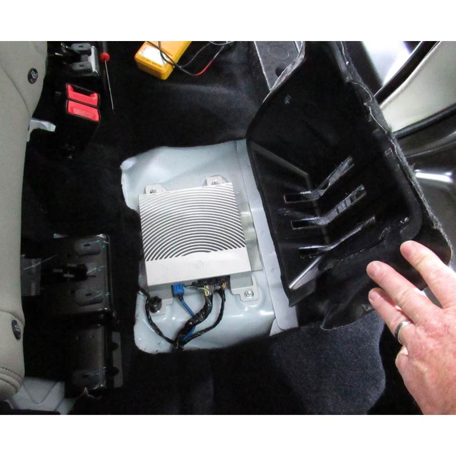 2019 Ford EcoSport Factory amplifier