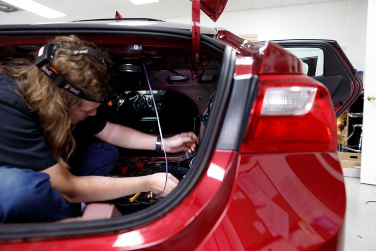 Car installation