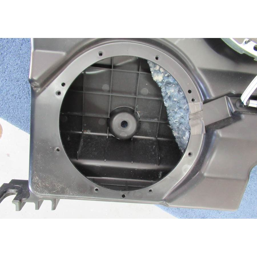 2015 Ford F-150 King Ranch Factory subwoofer removed