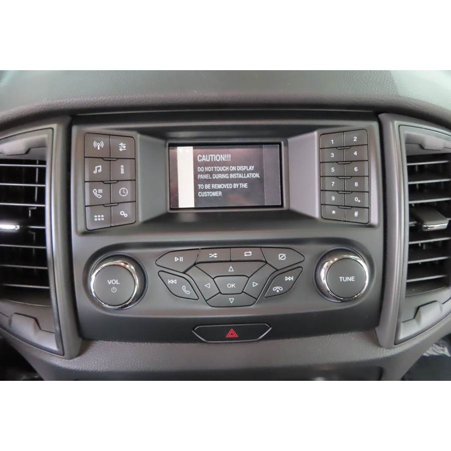 2019 Ford Ranger Factory Radio