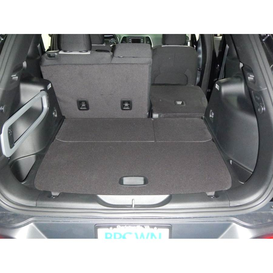 2014 Jeep Cherokee Cargo space