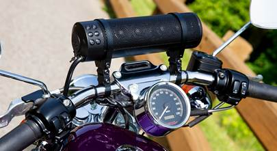 Bluetooth® motorcycle speakers bring big sound to your bike