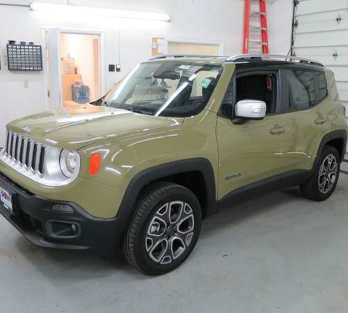 2018 Jeep Renegade Exterior
