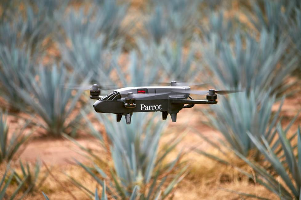 Parrot Bluegrass Fields quadcopter