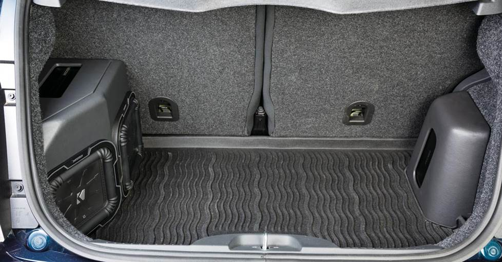 Kicker's Fiat 500 installation