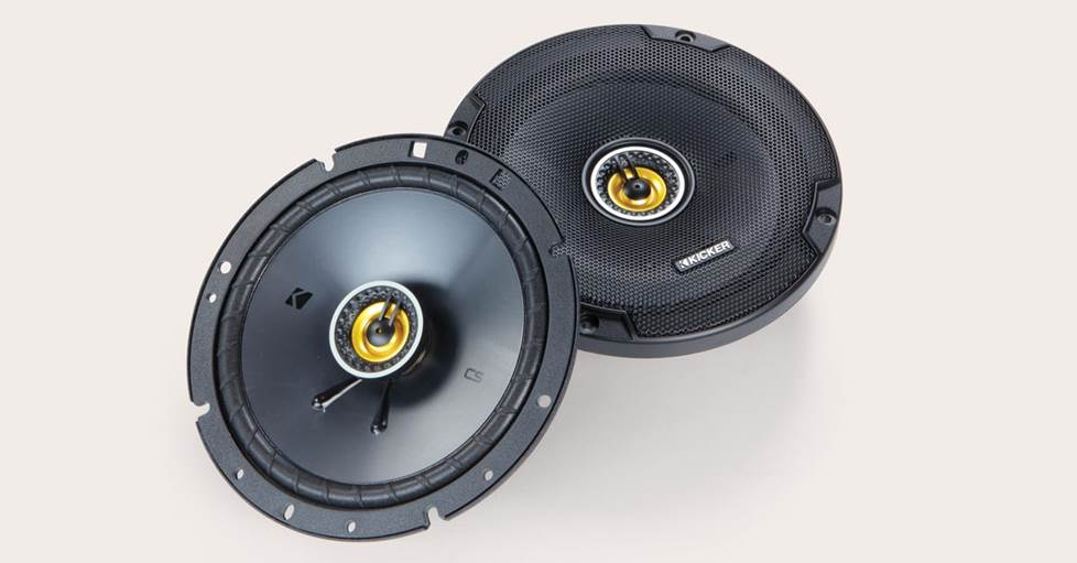 "Kicker 46CSC674 6-3/4"" 2-way car speakers"
