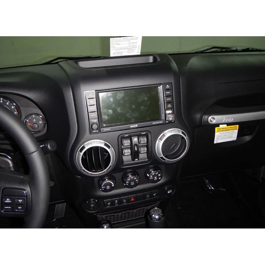 2018 Jeep Wrangler Unlimited (JK) Factory Radio