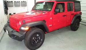 2018 Jeep Wrangler Unlimited (JL) Exterior