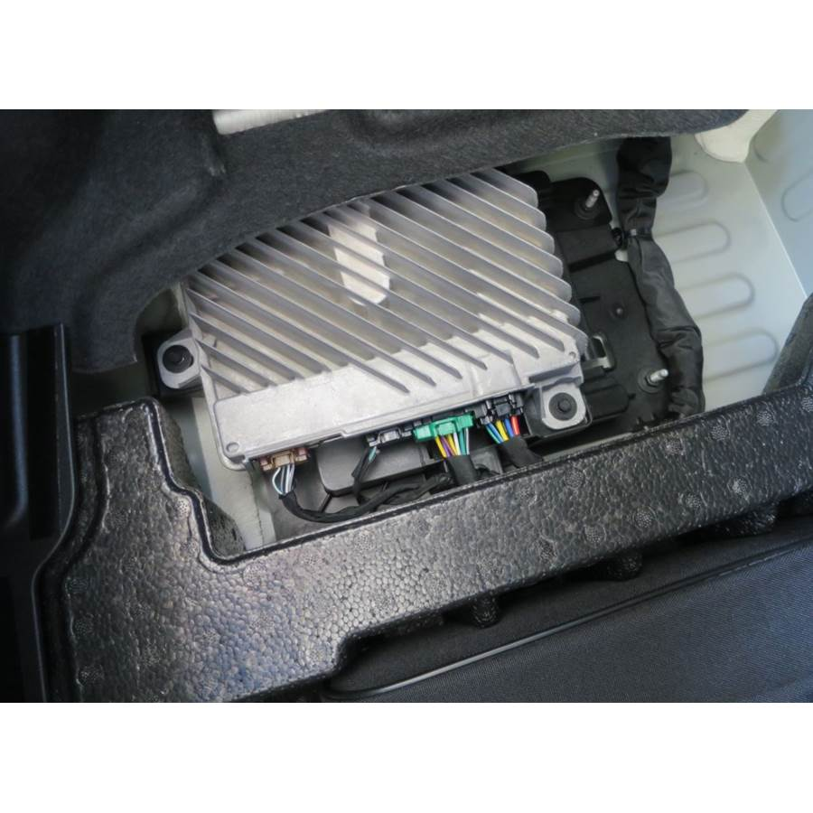 2019 Chevrolet Camaro Factory amplifier