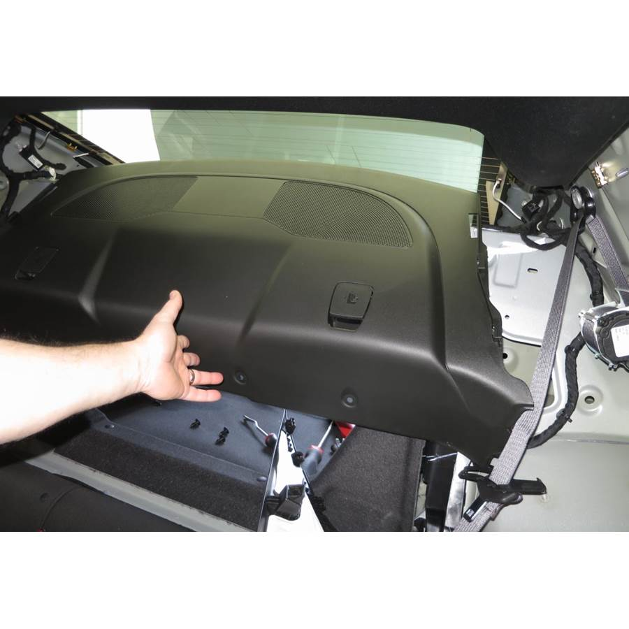 2019 Chevrolet Camaro Rear deck speaker location