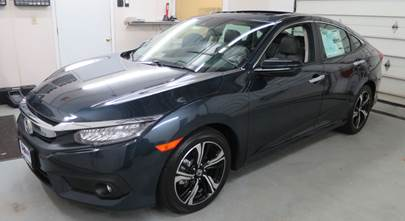 2016-up Honda Civic coupe and sedan