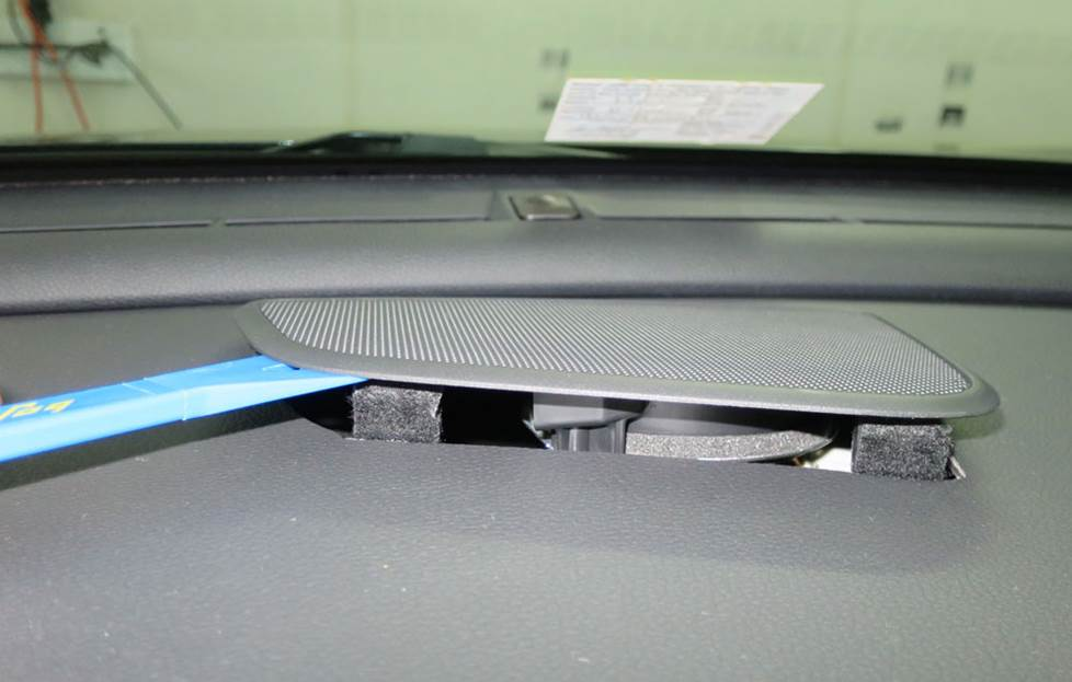 honda civic center dash speaker