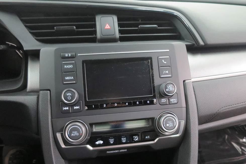honda civic base radio