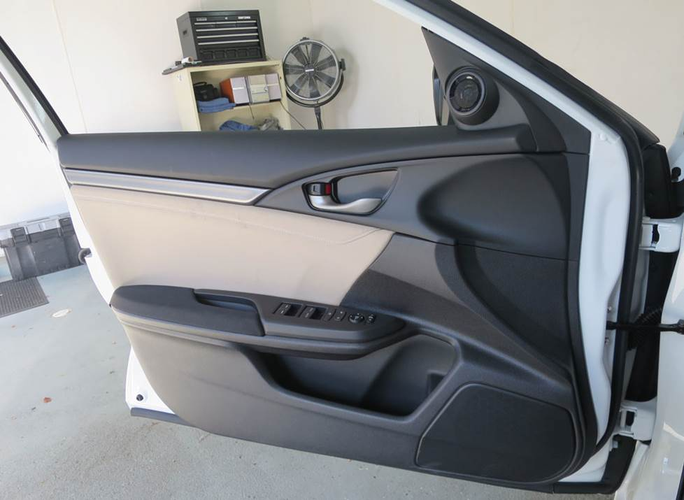 honda civic hatch front door