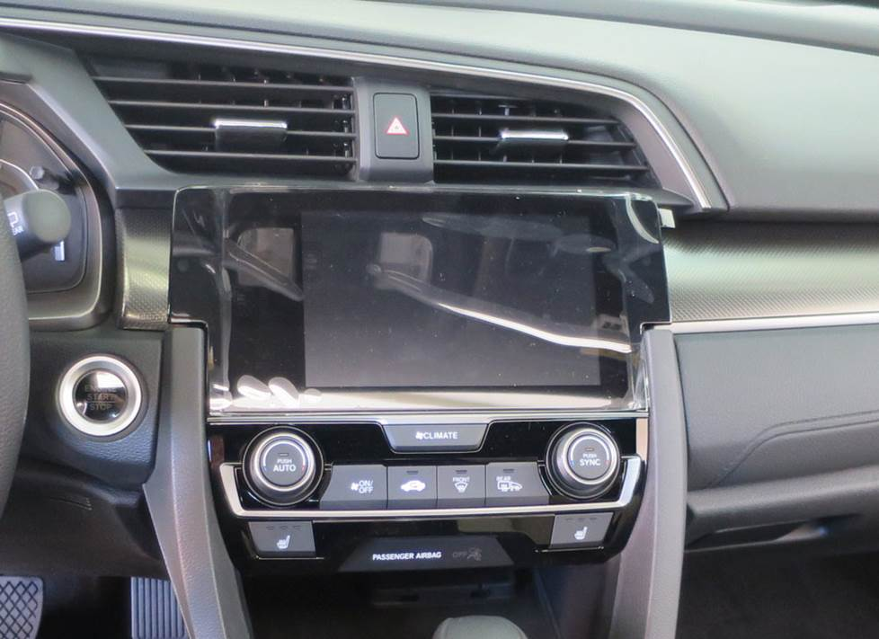 "honda civic factory radio 7"" LCD"