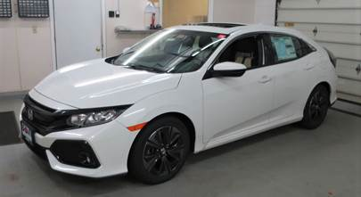 2017-up Honda Civic hatchback