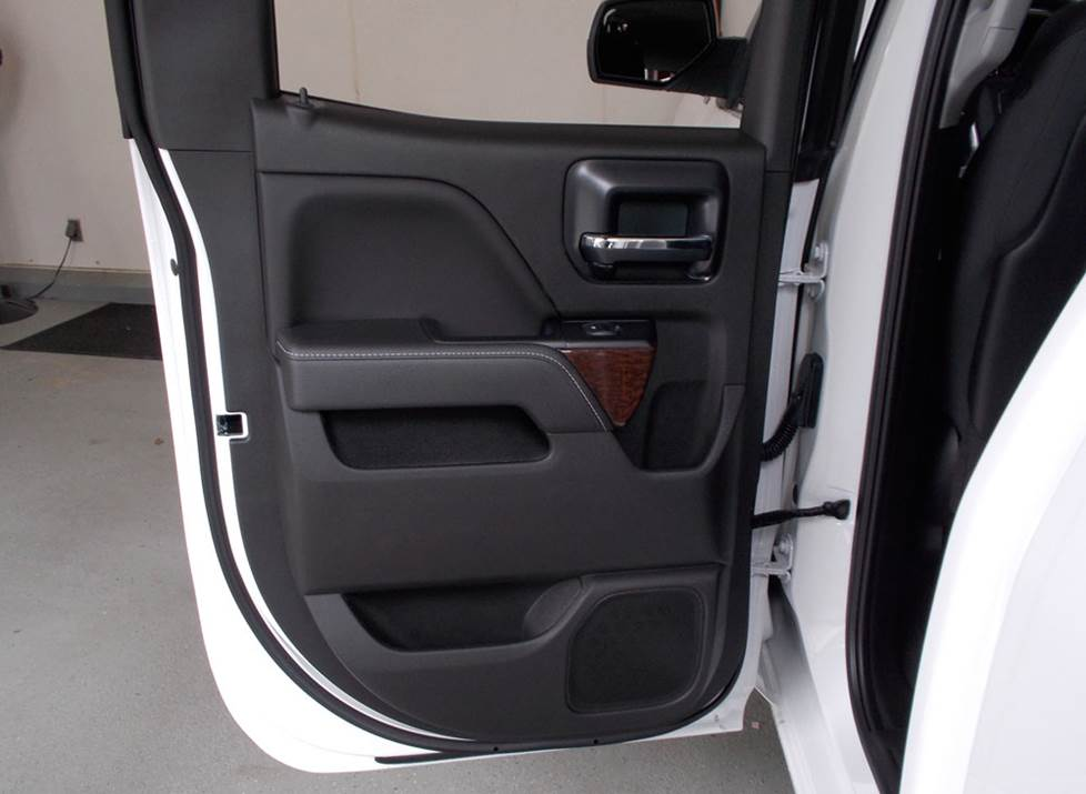 chevy silverado double cab rear door