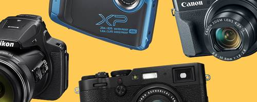 Point and shoot cameras guide
