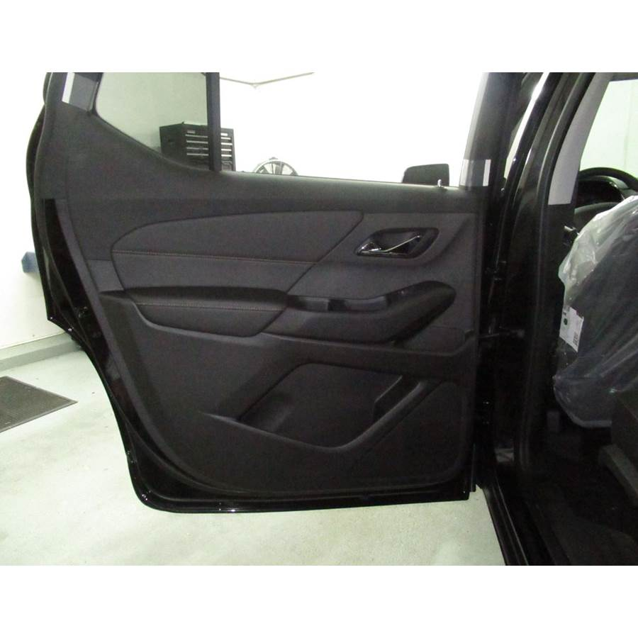 2018 Chevrolet Traverse Rear door speaker location