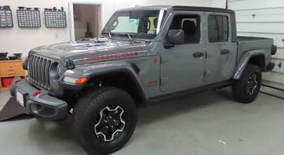 2018-up Jeep Wrangler (JL) and 2020-up Jeep Gladiator