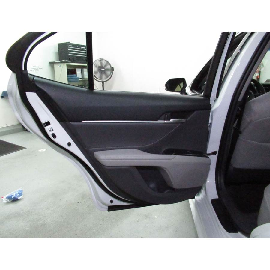 2020 Toyota Camry Rear door speaker location