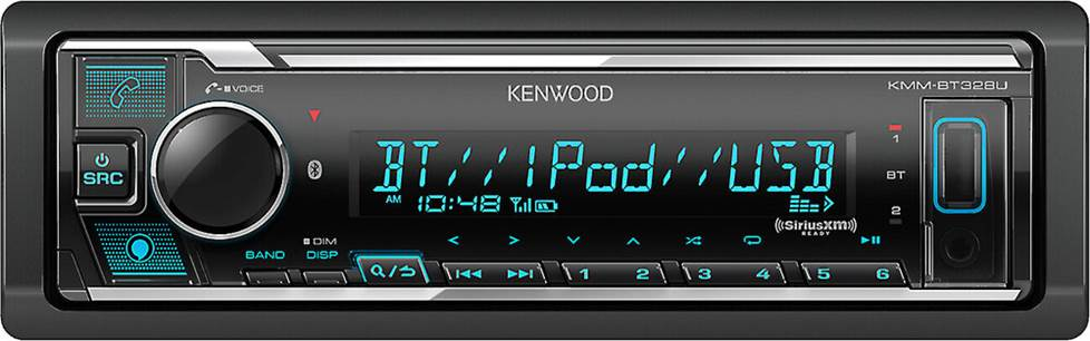 Kenwood digital media receiver