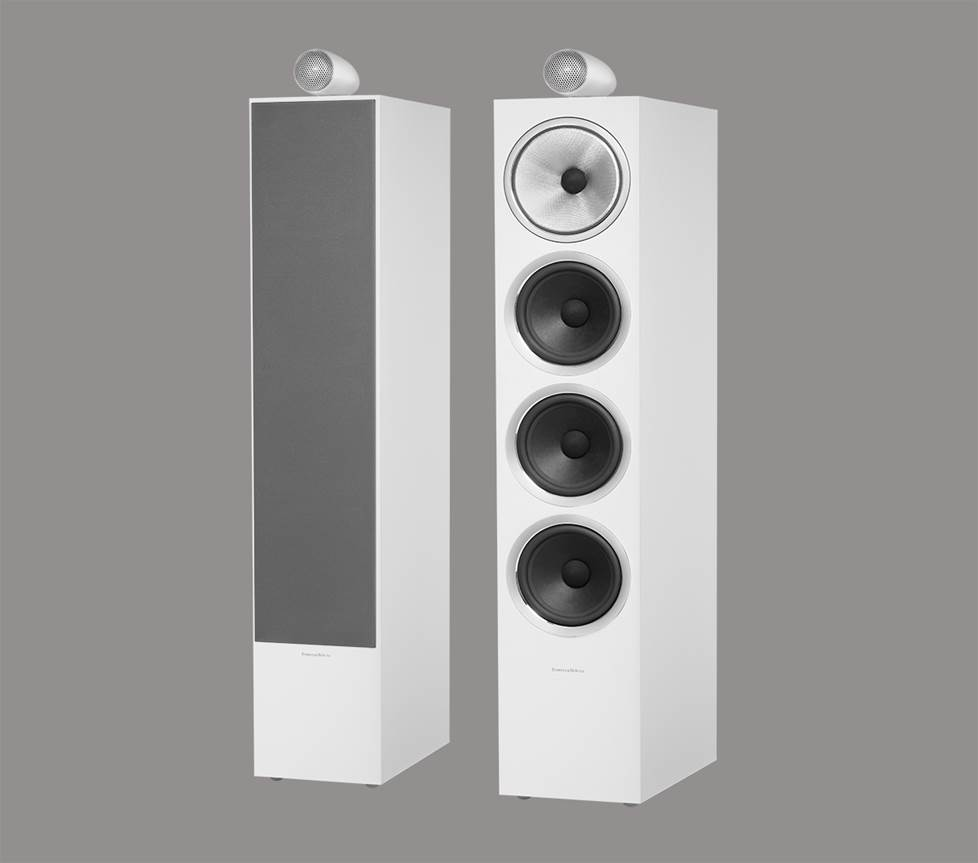 Bowers & Wilkins floor standing speakers
