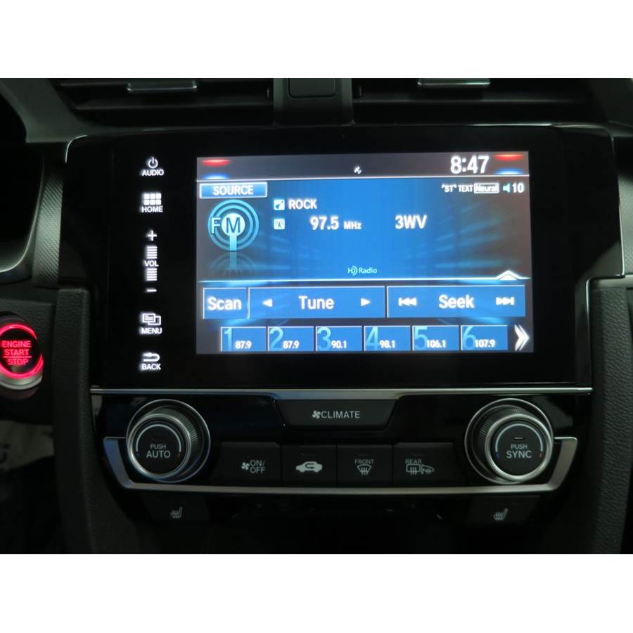 2016 Honda Civic EX-L Factory Radio