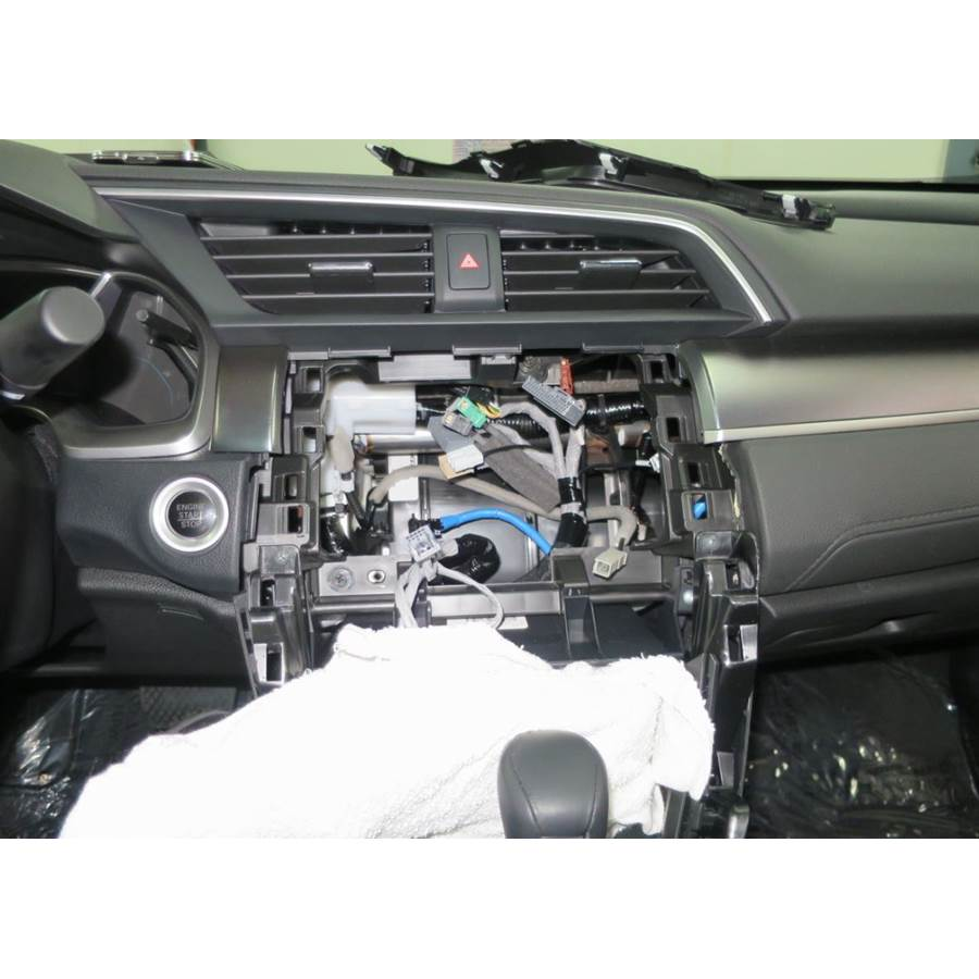 2016 Honda Civic EX-L Factory radio removed