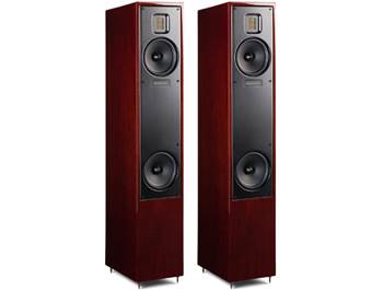 on a pair of MartinLogan speakers