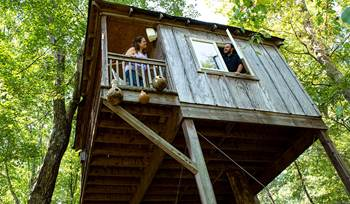 Tara's treehouse Sonos system