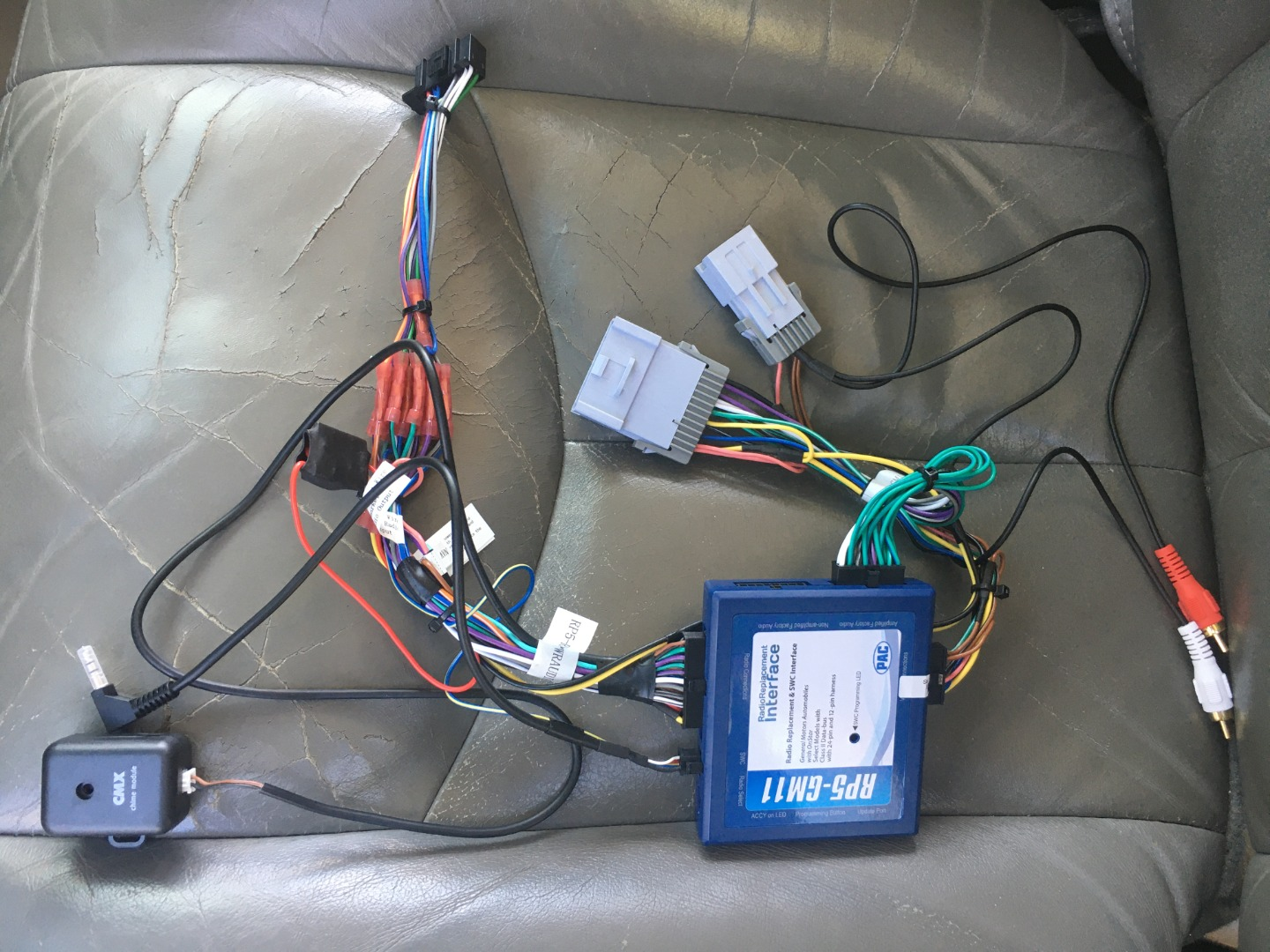 Customer Reviews Pac Rp5 Gm11 Wiring Interface Connect A New Car Stereo And Retain Onstar Factory Amp And Steering Wheel Audio Controls In Select 2000 Up Gm Vehicles At Crutchfield