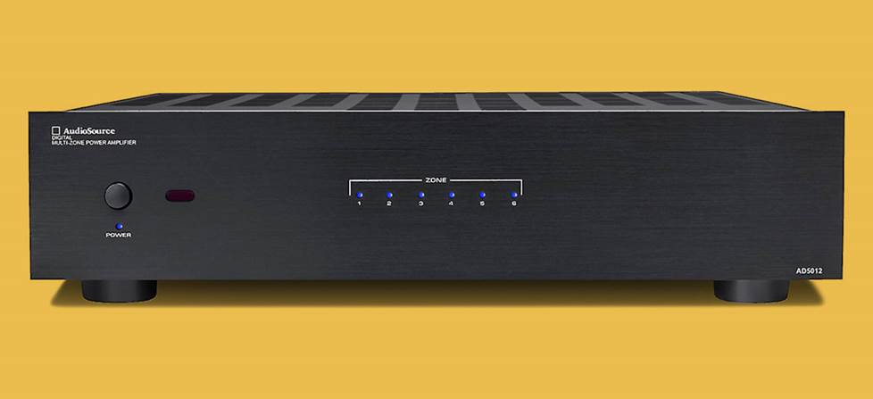 12-channel Audiosource amp.
