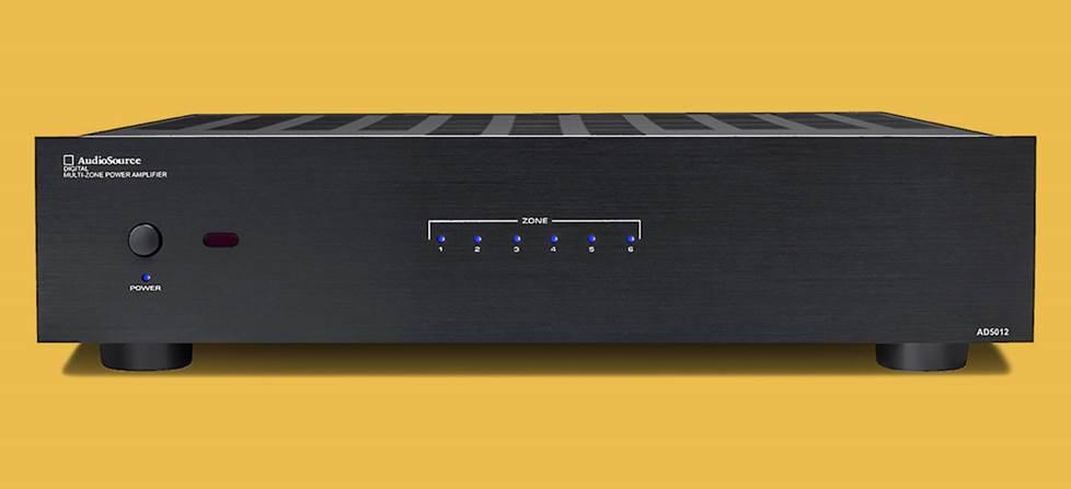 12-channel Audiosource amp.