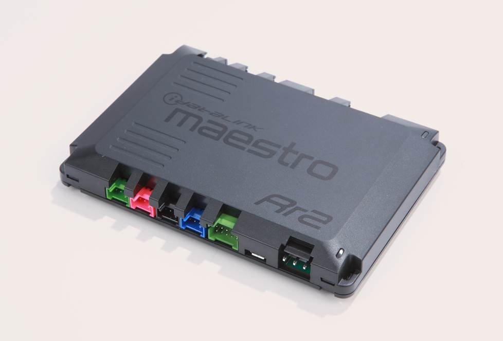 iDatalink Maestro RR interface