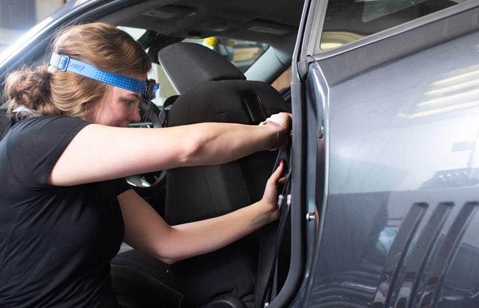 12 PC MINI CAR AUTO BLADE FUSE SET 5-30 AMP PLUG IN F.U.M TOOLS FUM