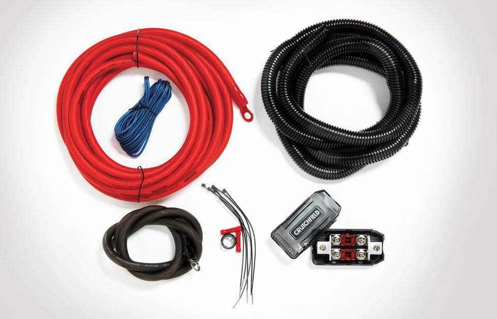 007CK4 Crutchfield 4-gauge amplifier wiring kit