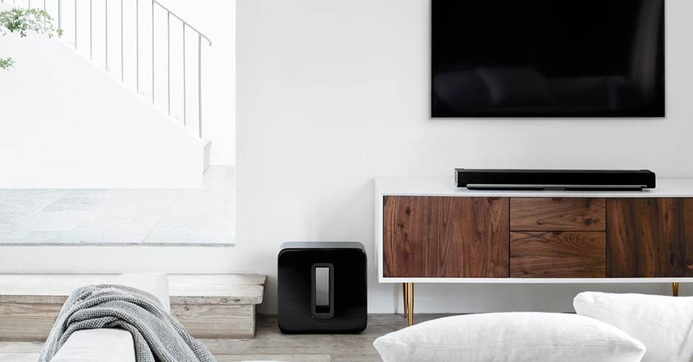 Sonos Subwoofer in a home setting