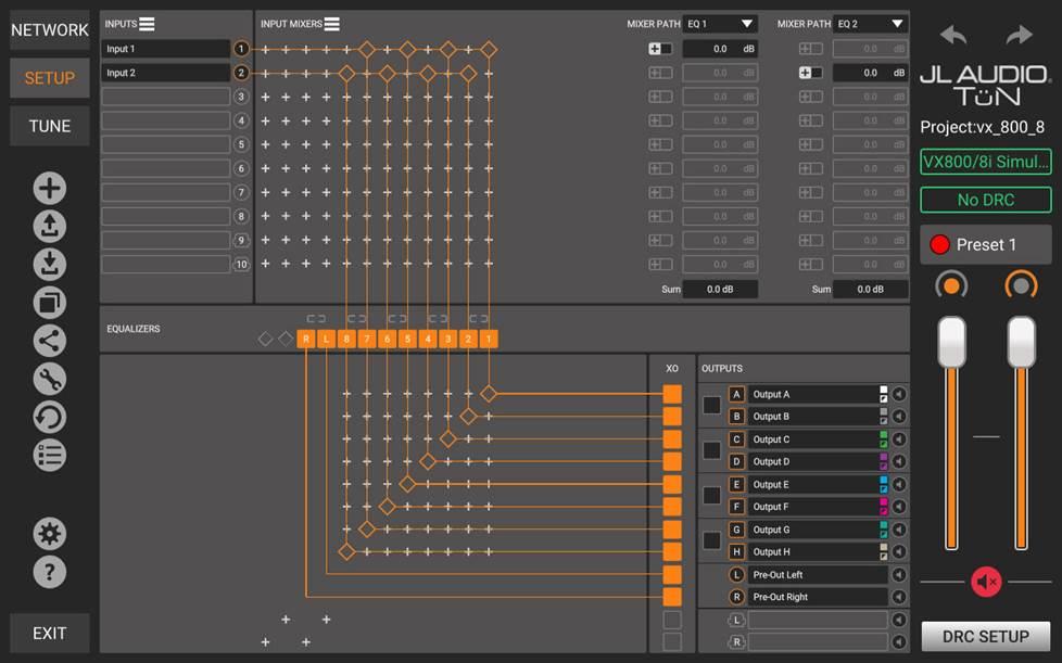 JL Audio tuning software