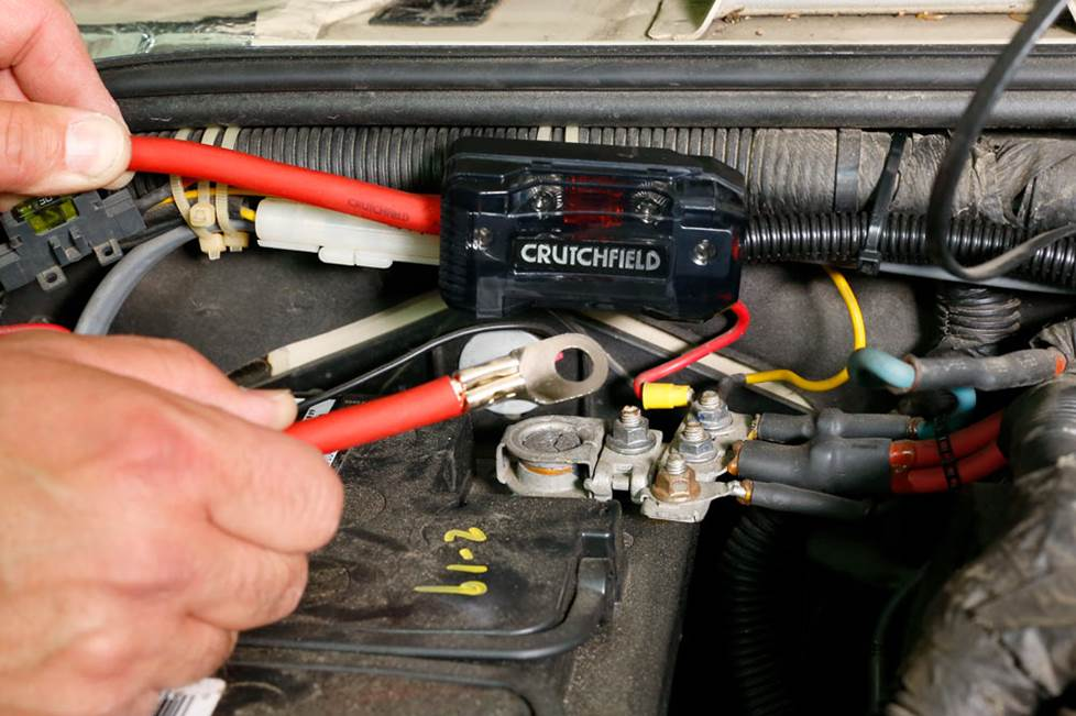 step-by-step instructions for wiring an amplifier in your car  crutchfield