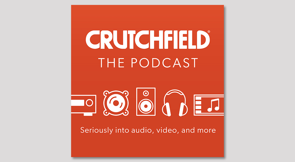 Crutchfield the Podcast cover logo