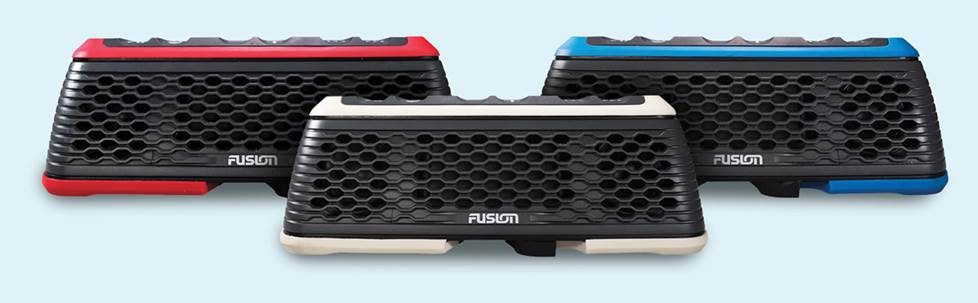 Fusion StereoActive Waterproof portable stereo with Bluetooth