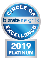 Bizrate Platinum Circle of Excellence - 20 years in a row
