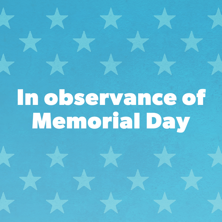 On this Memorial Day…
