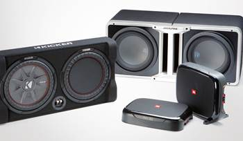Three exciting car subwoofer options