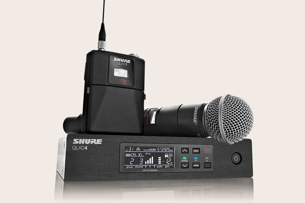 Shure wireless mic system
