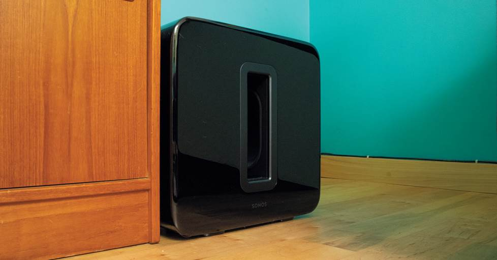 Sonos Sub (Gen 3) Wireless subwoofer for compatible Sonos speakers and components