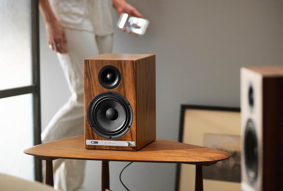 Audioengine HD6 powered stereo speakers with Bluetooth